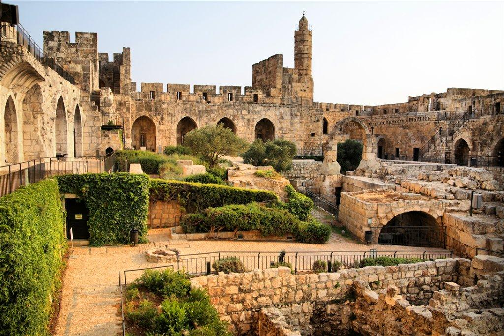 View from Inside the Tower of David