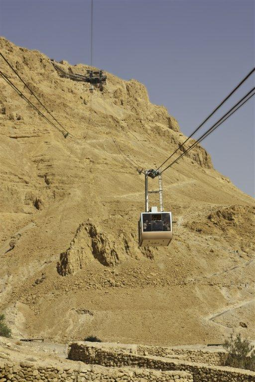The Funicular at Masada
