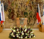 The Knesset Podium
