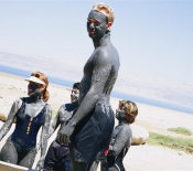 Dead Sea: Smeared with Mud