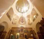 Inside the Russian Orthodox Church Ein Karem